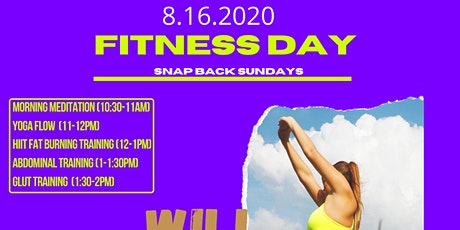 Will Power Sundays Fitness Day tickets