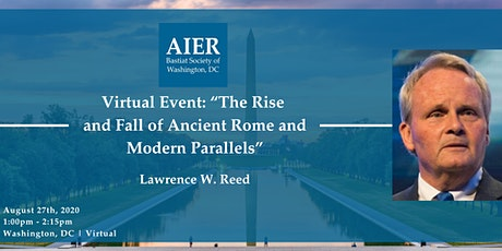 DC | Virtual: The Rise and Fall of Ancient Rome and Modern Parallels tickets