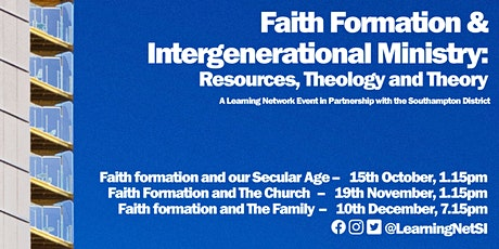 Faith Formation & Intergenerational Ministry: Understanding Our Secular Age tickets