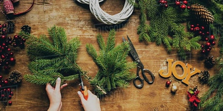 Festive Wreath-Making Workshop with Afternoon Tea tickets