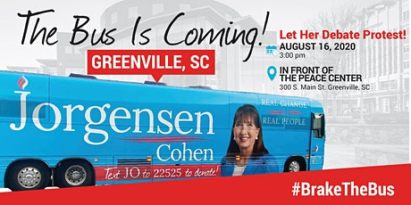 BUS TOUR: Dr. Jo Jorgensen is coming to Greenville tickets
