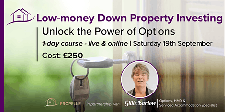 1-Day Property Options Course| Invest in Property with Minimal Capital tickets