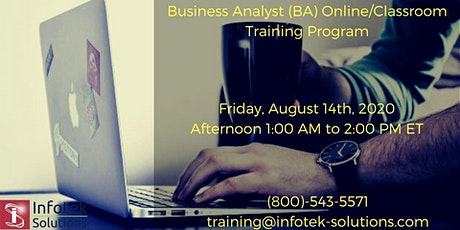 Do you want to become a IT Business Analyst / Product Owner..? tickets