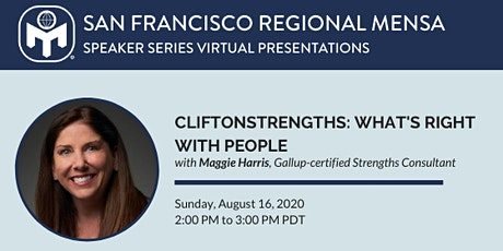 CliftonStrengths: What's Right with People tickets