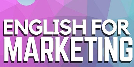 English for Marketing course tickets