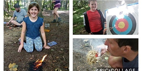 Archery & fire lighting - fun for all the family aged 5+ in Bridgend tickets