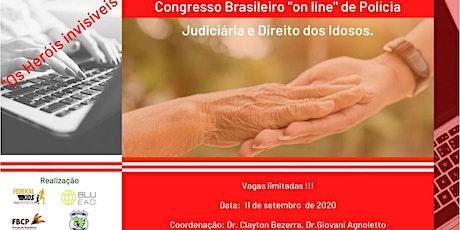 """I Congresso """"OnLine"""" Polícia Judiciária e Direito do Idoso ingressos"""