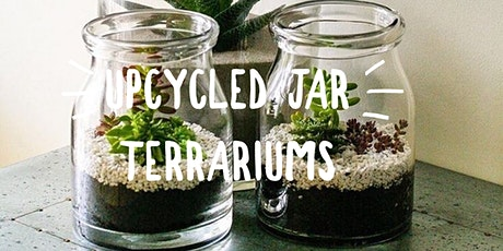 Upcycled Jar Terrarium workshop tickets