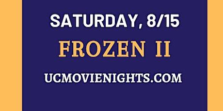 UC Movie Nights: Frozen 2, August 15th tickets