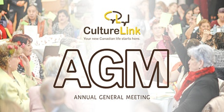 CultureLink's Annual General Meeting 2020 tickets