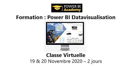 Power BI Datavisualisation - 2 jours - 19 & 20 Novembre 2020 billets
