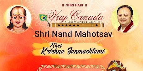 Vraj Canada - Shri Nand Mahotsav tickets