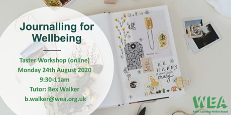 Journalling for Wellbeing tickets