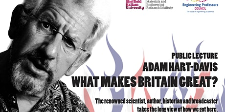 EPC Congress Public Lecture: Adam Hart-Davis: 'What makes Britain great?' ingressos