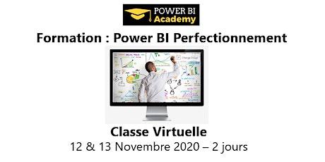 Power BI Perfectionnement - 2 jours - 12 & 13 Novembre 2020 billets