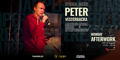 Monday Afterwork with Peter Vesterbacka tickets