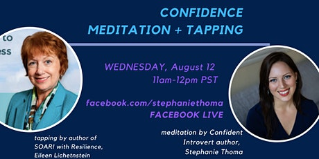 Confidence Meditation + Tapping Facebook Live tickets