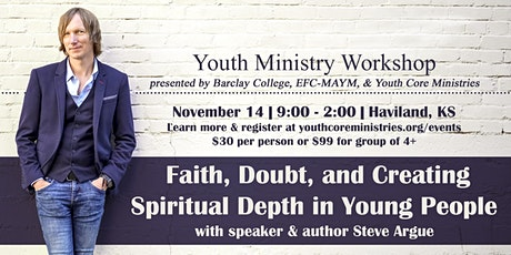 Faith Doubt and Creating Spiritual Depths in Young People with Steve Argue