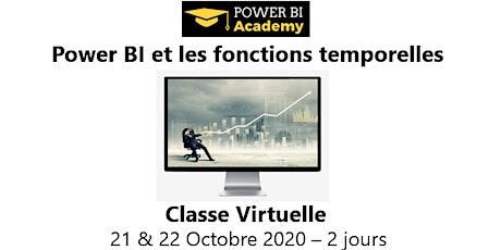 Power BI et les fonctions temporelles - 2 jours - 21 & 22 Octobre 2020 billets