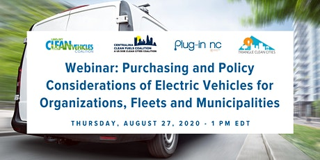 Purchasing and Policy Considerations of Electric Vehicles for Organizations tickets
