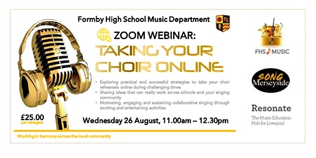 Taking Your Choir Online tickets