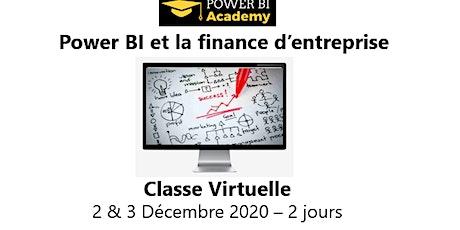 Power BI et la finance d'entreprise - 2 jours -2 & 3 Décembre  2020 billets