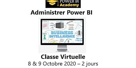 Power BI Admin - 2 jours - 8 & 9 Octobre 2020 billets