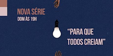 Celebração  Presencial de Domingo - 16/08 ingressos
