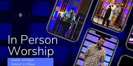 In-Person Worship - August 16th tickets