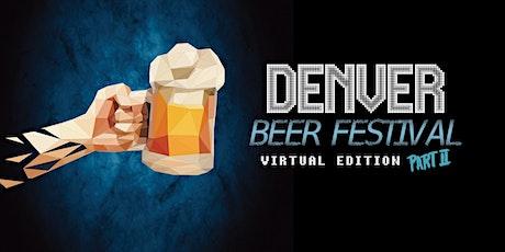 Denver  Beer Festival - Virtual Edition 2 biglietti