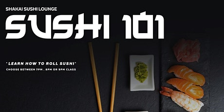 SUSHI 101 ORLANDO | A Night Out Learning how to Make Sushi ! tickets