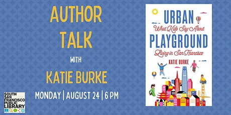 Author Talk & Discussion with Katie Burke tickets
