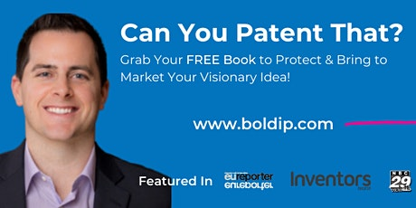 Bold Ideas with Bold Patents' J.D. Houvener tickets