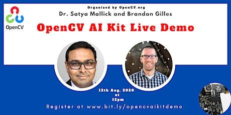 OpenCV Ai Kit (OAK) Live Demo tickets