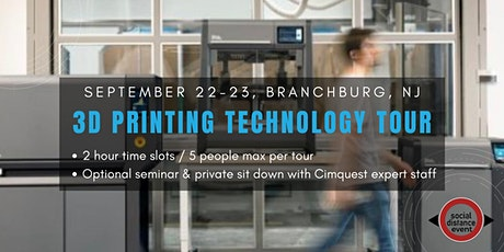 Cimquest NJ's 3D Printing Technology Tour (Safe Social Distancing Event!) tickets