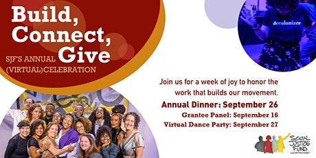 SJF Week of Celebration — Dinner, Panel, and Dance Party tickets