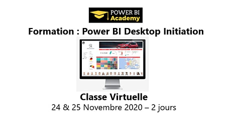 Power BI Initiation - 2 jours - 24 & 25 Novembre 2020 billets