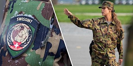 """""""La Svizzera per la pace"""" e """"Il ruolo della Donna nell'Esercito"""" biglietti"""