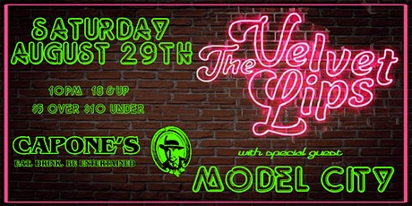 The Velvet Lips with Model City tickets