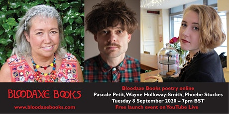 Launch reading by Pascale Petit, Wayne-Holloway Smith & Phoebe Stuckes tickets