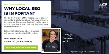 Why Local SEO Is Important tickets