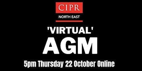 CIPR North East Virtual AGM tickets