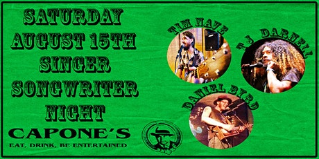 Singer Songwriter Night with TJ, Tim and Daniel Byrd tickets