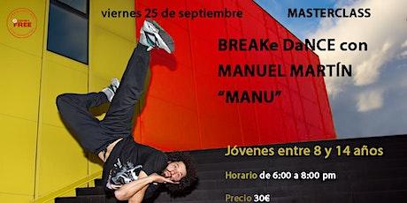 Taller Breakdance entradas