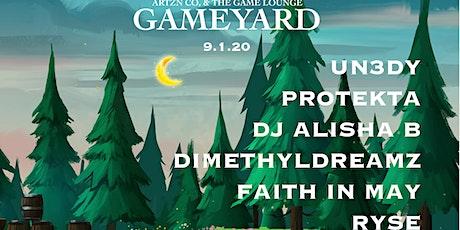 Gameyard (9/1/20) tickets