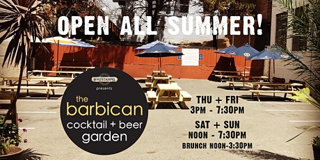Outdoor Cocktail + Beer Garden tickets