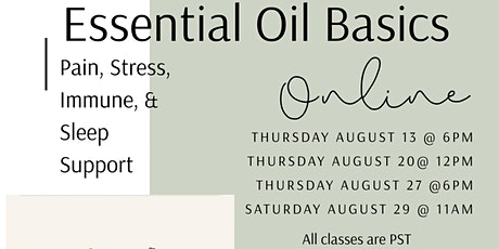 Essential Oil Introduction tickets