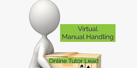 Manual Handling Online Training - Thursday 7pm-9pm