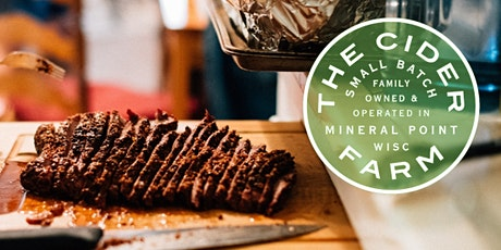 Saturday, August 15: What's on the Grill?!? Organic Smoked Brisket tickets