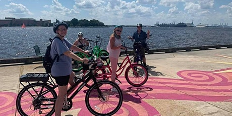 1/2 Day Electric Bike Tour- Norfolk Art and History tickets